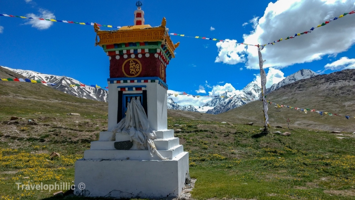 Chorten at Kunzum La