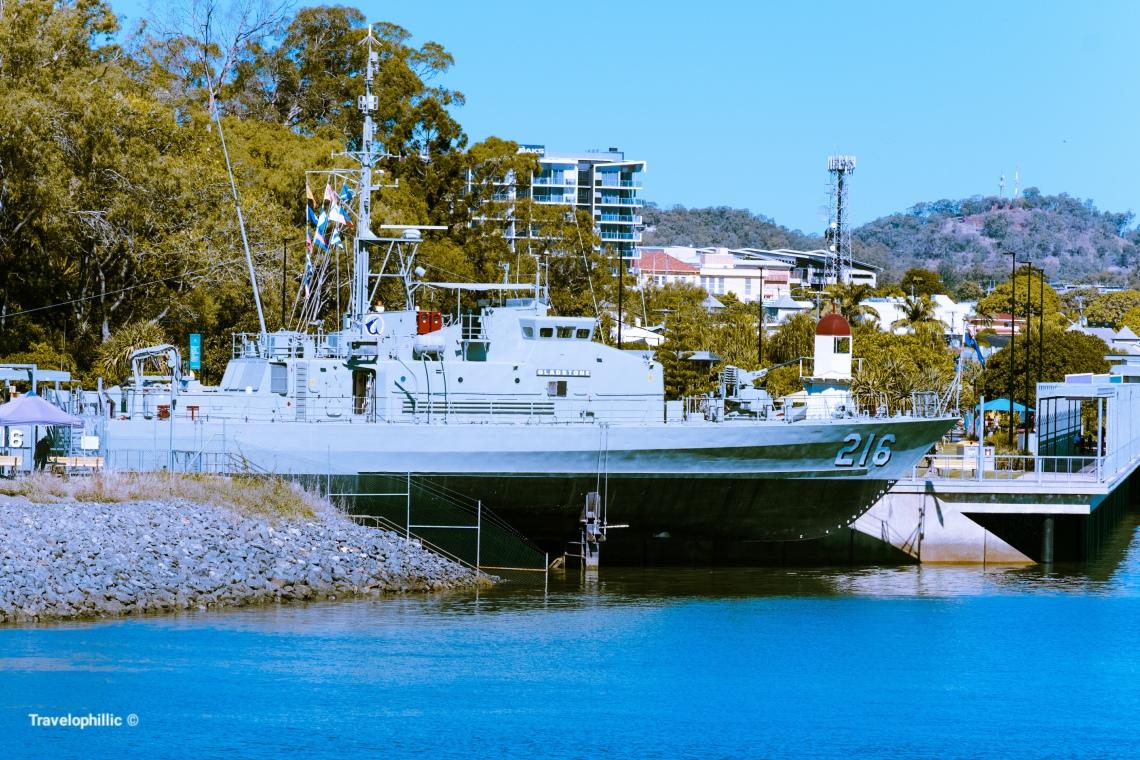 HMAS, Gladstone at East Precinct